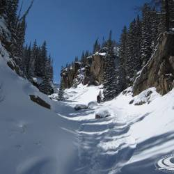 Upper Loche drainage, Rocky Mountain National Park