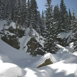Lower Loche drainage, Rocky Mountain National Park