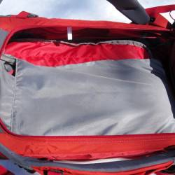 Hydration pouch in main compartment