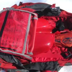 Avalanche gear compartment