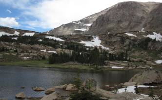 Lion Lake, Wild Basin, Rocky Mountain National Park