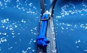 WaterTight™ external zippers