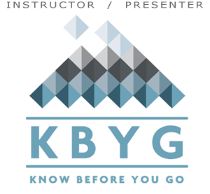 Know Before You Go Instructor / Presenter