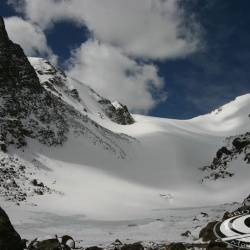 Andrews Glacier apron, RMNP