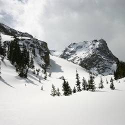 Andrews Glacier / The Gash Gorge – Rocky Mountain National Park
