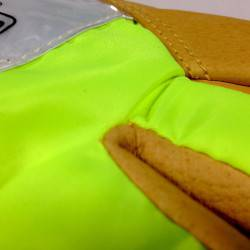 Hi-vis lime green provides additional daylight visibility